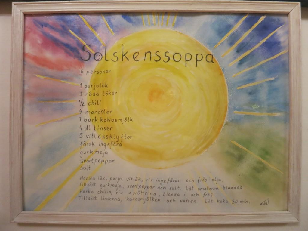 Solskenssoppa